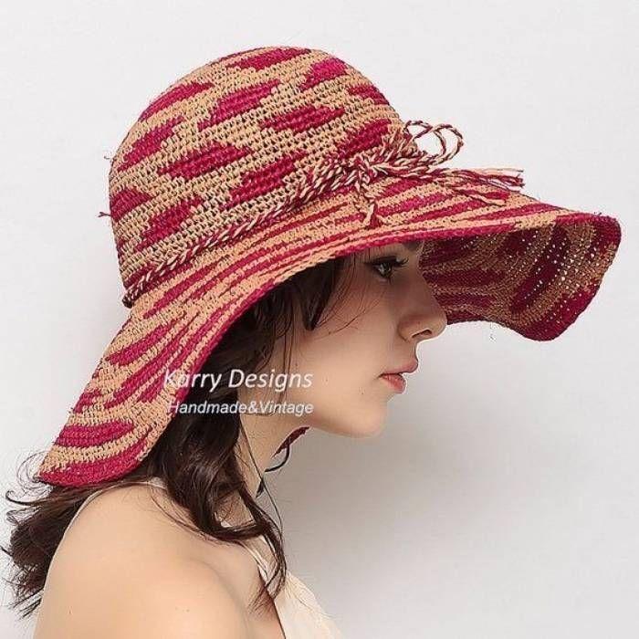 Faça você mesma o seu chapéu de crochê – Croché