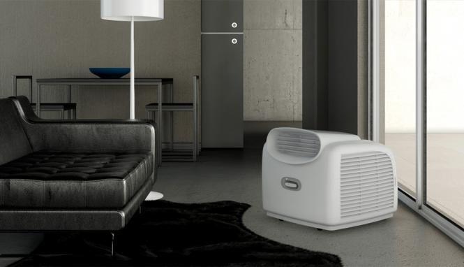 das kleinste klimager t der welt leiser betrieb starke k hlleistung wenig stromverbrauch. Black Bedroom Furniture Sets. Home Design Ideas