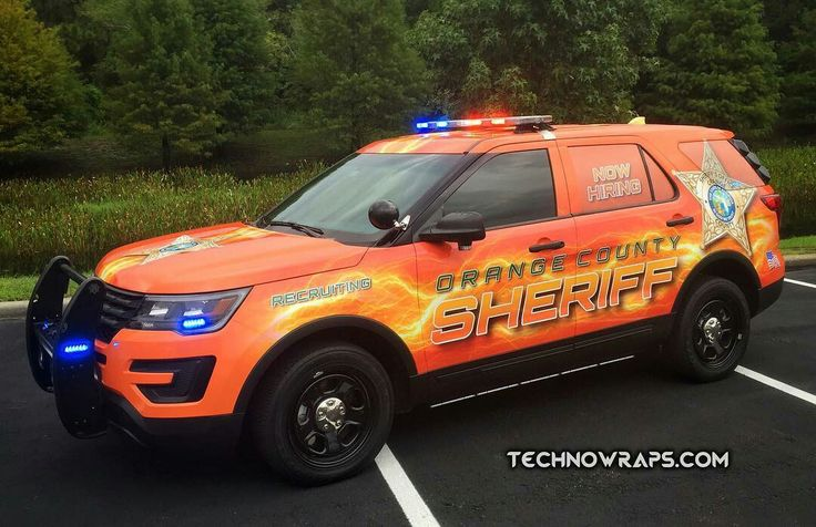 Orange County Sheriff Dept. Interceptor Utility