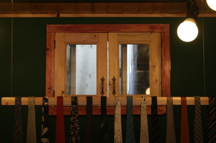 내부에 있는 작은 창.