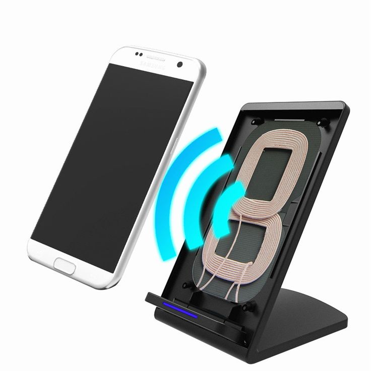 M520 10W 2 Coils Qi Wireless Quick Charger Stand Holder for Samsung S8 Galaxy Note 8 iPhone 8 Plus X Sale - Banggood.com