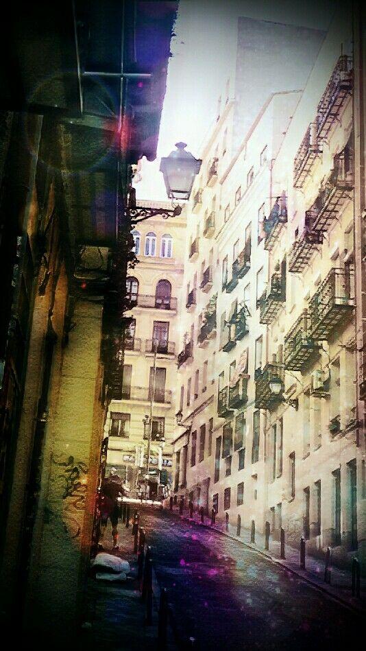 Barrio de las Letras, Madrid.
