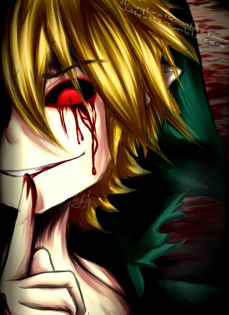ben drowned anime - Google Search