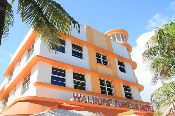 Ocean Drive, Art Deco District, South Beach (Miami Beach, Florida)