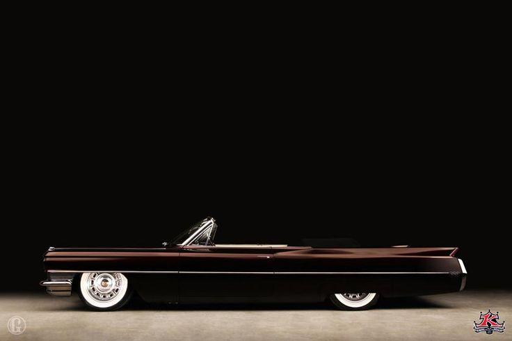 Apollo Ohno's '64 Caddy, built by Kindig It, Salt Lake City, UT