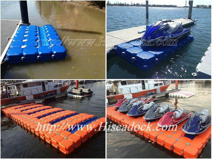 Jet ski pontoon dock for your jet ski