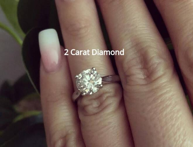 2 Carat Diamond Rings In 2020 Pink Diamond Ring Diamond Rings With Price Oval Diamond Engagement Ring