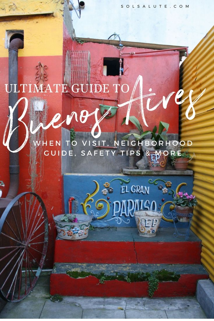 Ultimate Guide to Buenos Aires, where to stay and how to plan your visit #buenosaires #argentina