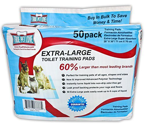 """Be Quick BIG Sale 40% Off 50 XL Wee Wee Pads Puppy Training Pads, Dog Potty Training Puppy Potty Training, Housebreaking Pads. 28""""x30"""" XL Potty Pads Small To Large Dogs Extra Large Training Pads At Last, Extra Large Wee Wee Pads Housebreaking Puppy Training Pads That Save You Time, Money & Read  more http://dogpoundspot.com/be-quick-big-sale-40-off-50-xl-wee-wee-pads-puppy-training-pads-dog-potty-training-puppy-potty-training-housebreaking-pads-28x30-xl-potty-pads-small-to-la"""