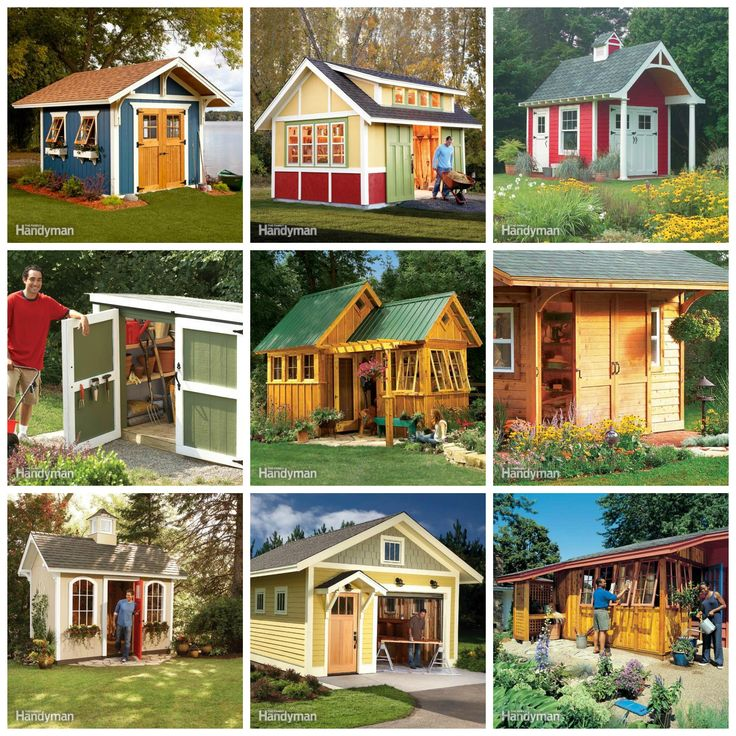 78 best images about how to build a shed on pinterest for Backyard shop plans