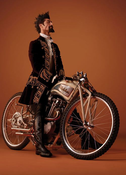 Steampunk Gent Via Kustom King ~ Steampunk Transportation                                                                                                                                                     More