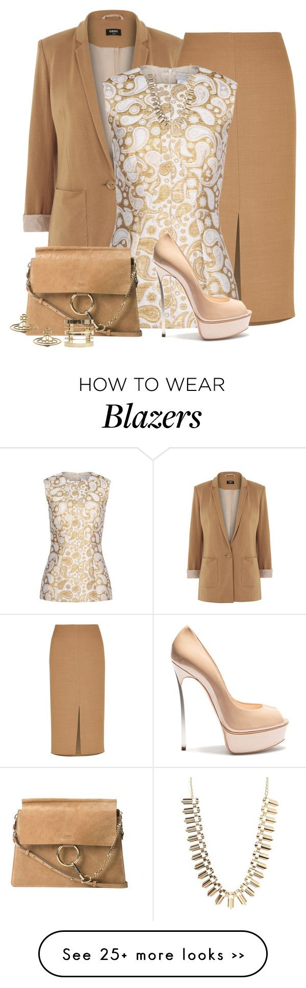 """STELLA MCCARTNEY BLOUSE"" by arjanadesign on Polyvore featuring Oasis, Jaeger, STELLA McCARTNEY, Casadei, Chloé, Charlotte Russe and Wet Seal"