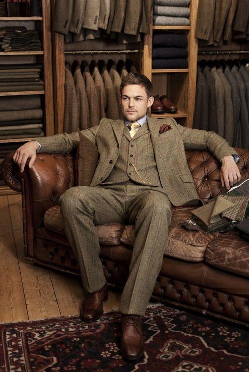 170 best three piece suit man images on pinterest. Black Bedroom Furniture Sets. Home Design Ideas