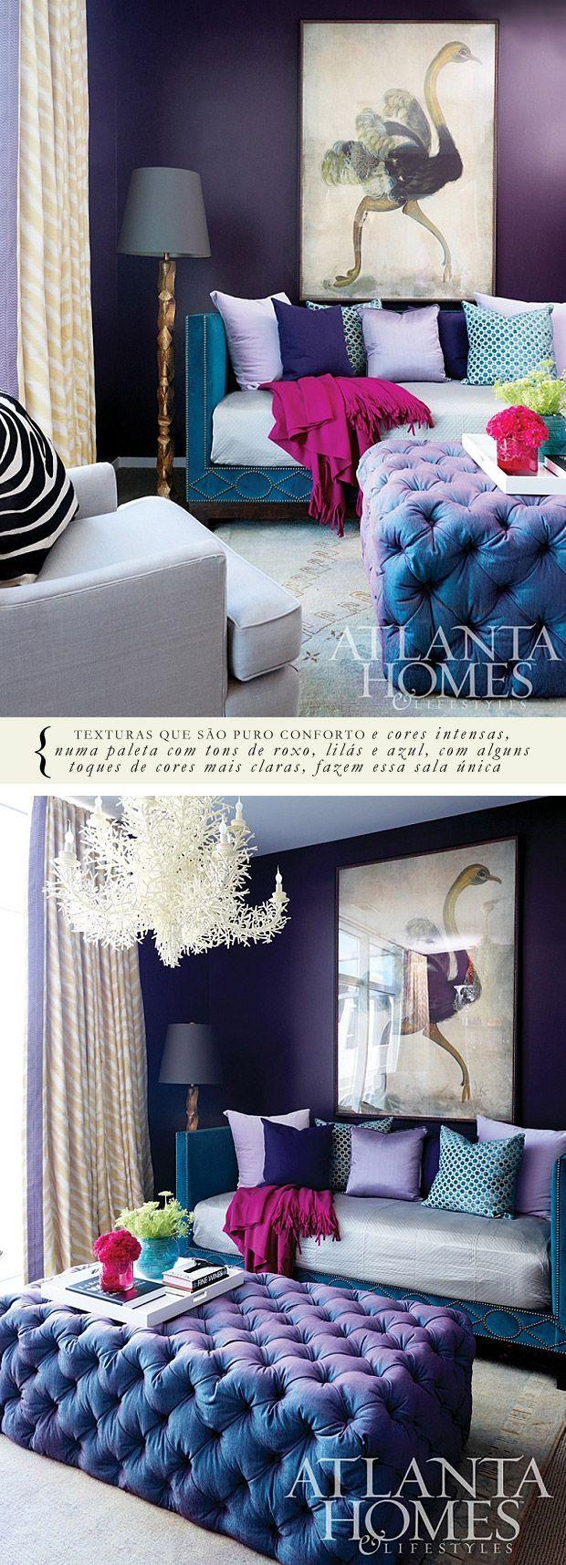 Purple Bedroom Bench: Best 25+ Dark Purple Walls Ideas On Pinterest