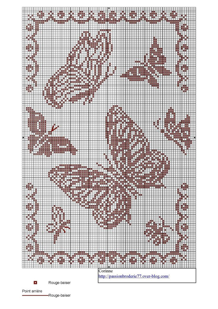 44 best coccinelle ladybird abeille bee papillon butterfly point de croix embroidery images on. Black Bedroom Furniture Sets. Home Design Ideas