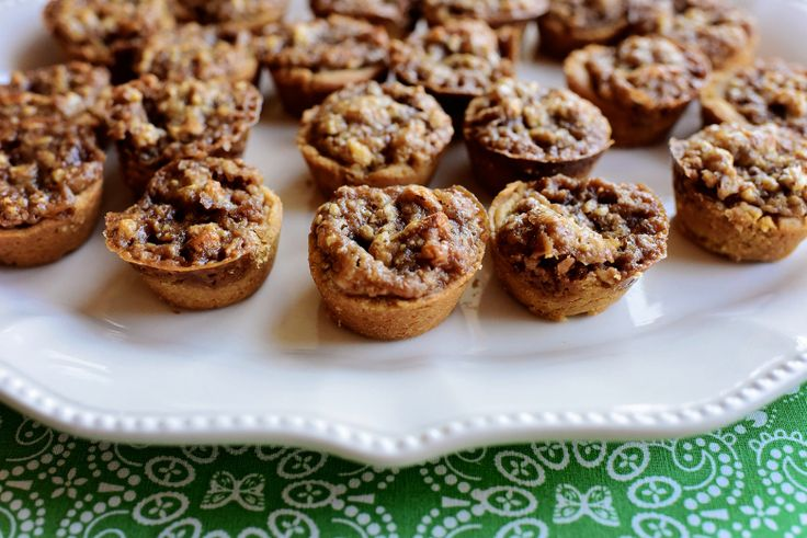 Pecan Pie Bites. Ree's recipe doesn't use cream cheese in crust like mine..will give a try.