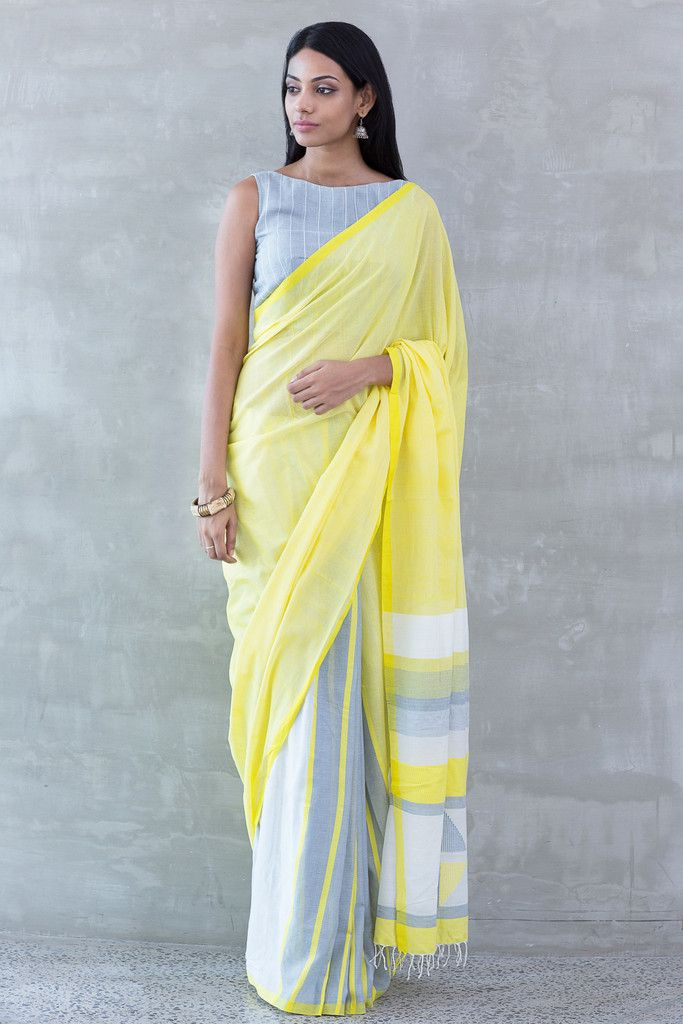 Kaha Eli Rataa Saree by FashionMarket.lk