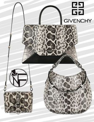 Givenchy Reptile Leather Handbags