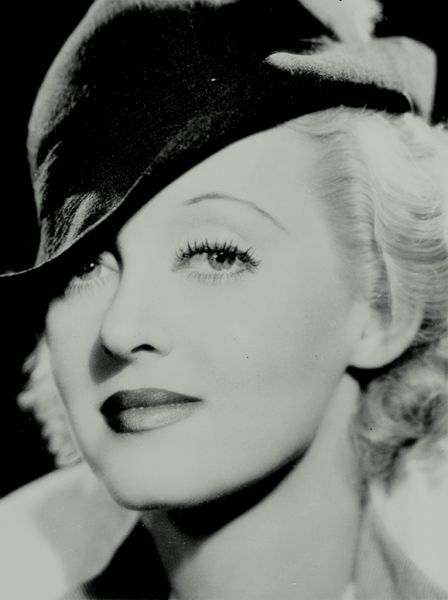 Bette Davis-- she's got Bette Davis eyes