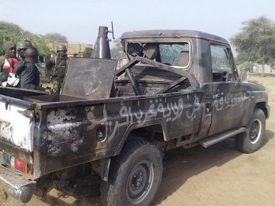 Photos: Troops neutralize 13 Boko Haram insurgents in Borno State recover arms and ammunition