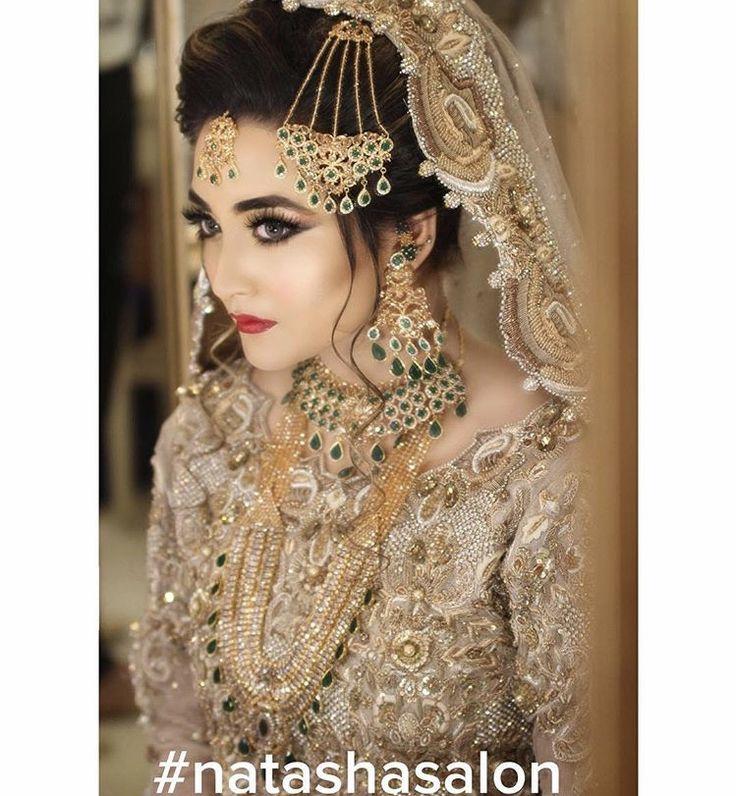 Pakistani bride. Makeup by Natasha Salon