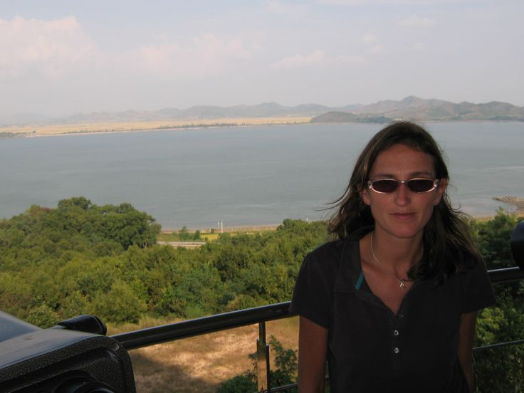 That's North Korea in the background...