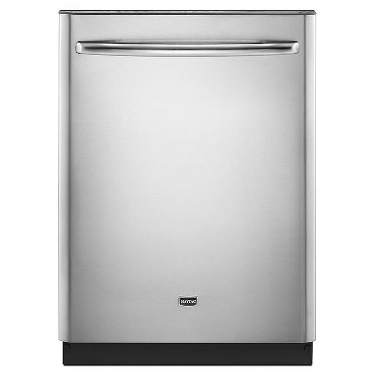 """Maytag - MDB8959SBS - 24"""" Jetclean® Plus Built-In Dishwasher w/ Premium Rack Glides - Stainless Steel 