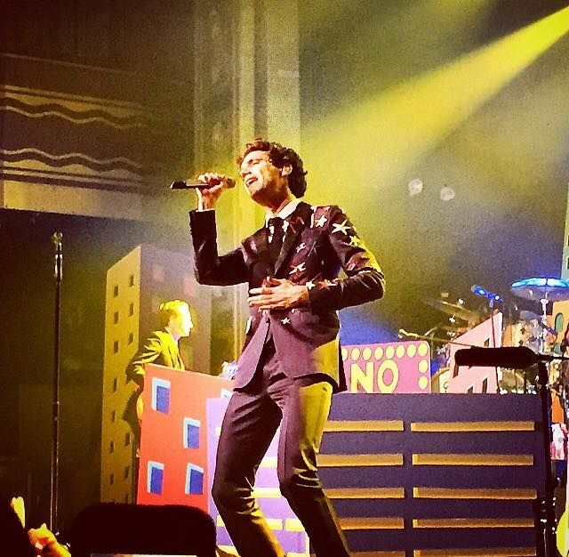 Mika at Webster hall 5.5.15. I was there!