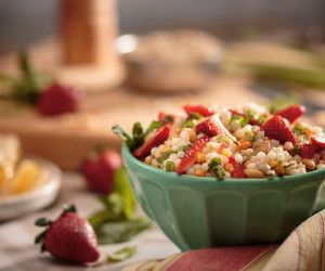 Strawberry Couscous Summer Salad