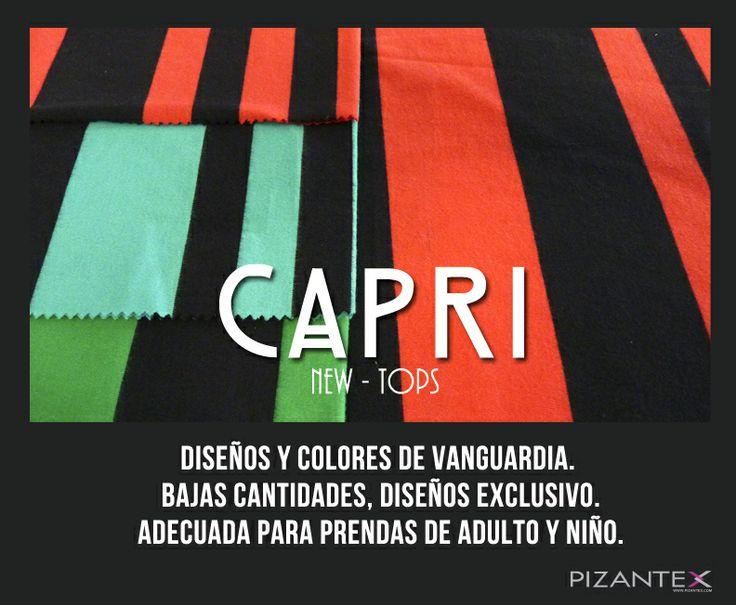 New Tops. Ref. Capri ¡Diseño, comodidad y exclusividad!
