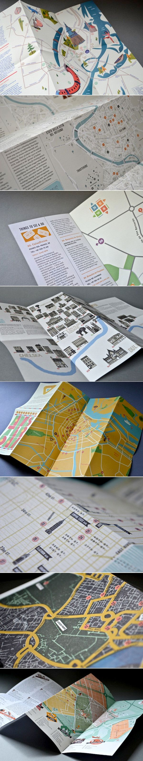 Maps galore. Herb Lester Associates publish guides for tourists and locals…