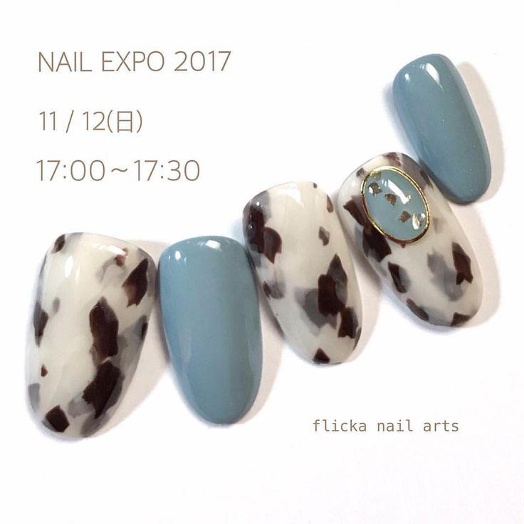 """いいね!1,458件、コメント1件 ― nail artist SAORI 中川さおりさん(@flickanail)のInstagramアカウント: 「NAIL EXPO 2017 11/12(日)TATスペシャルステージに2回出演させていただきます 11/12(日) 17:00〜17:30 """"白べっこう"""" 初のプロデュース商品となります、…」"""