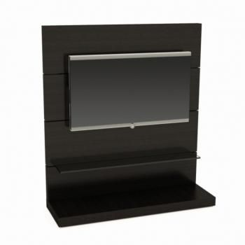 Wenge Stained TV Wall Unit | Wenge Stained | TV Stand