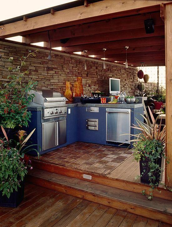 25+ Incredible Outdoor Kitchen Ideas Backyard kitchens Outdoor