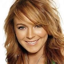 Lindsay Lohan-prior to her...breakdown days. I thought she had the most beautiful hair.