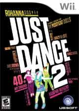 Just Dance 2, my favorite wii game! I forgot how good it feels to dance!