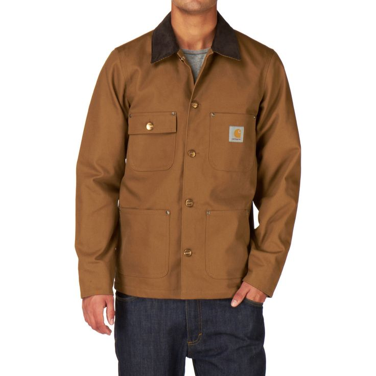 Carhartt Jackets - Carhartt Chore Coat Jacket - Hamilton Brown