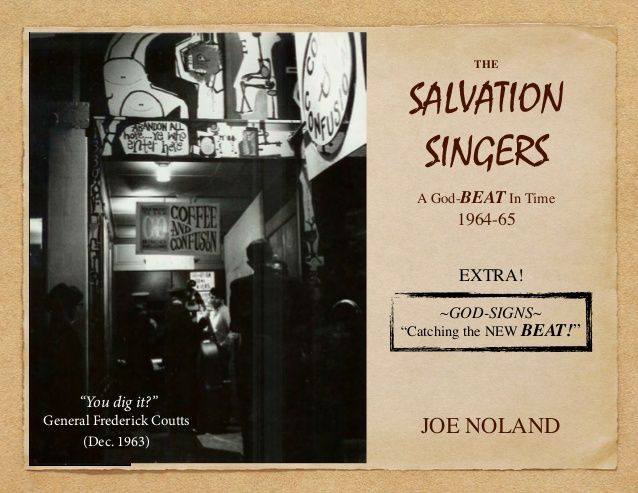 """""""This is a great story during a remarkable time in American history"""" - Phil Cooke (Cooke Pictures)The Salvation Singers by Joe Noland via slideshare"""
