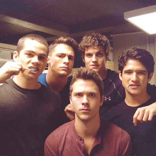 Da Teen Wolf boys from S2!