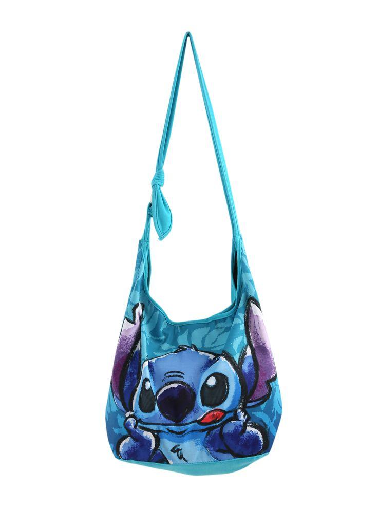 Disney Lilo & Stitch Sketch Hawaiian Hobo Bag | Hot Topic