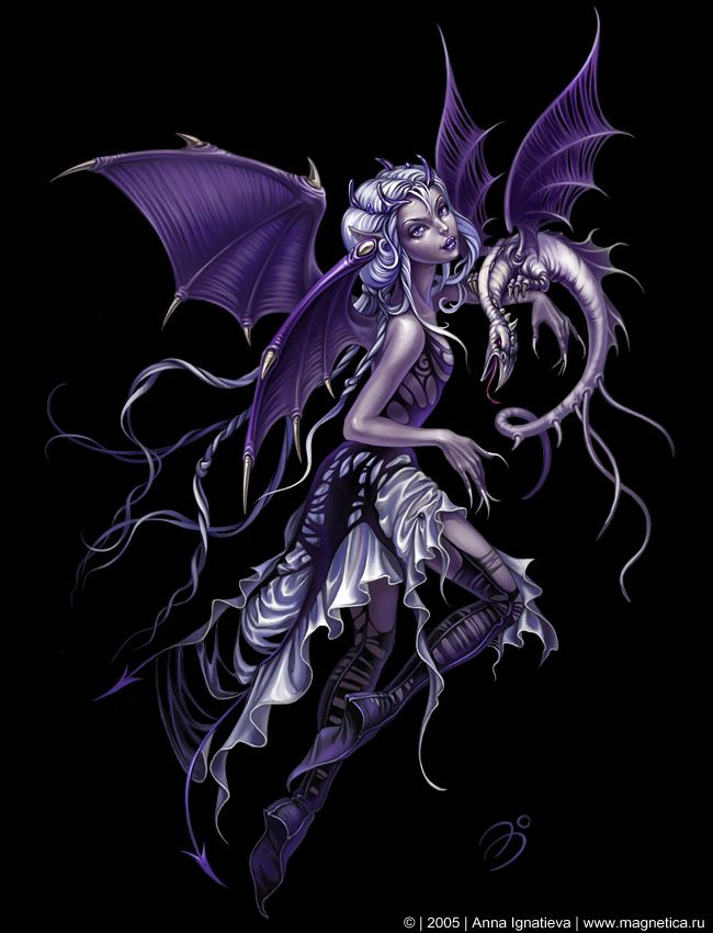 Image Detail for - purple-dark-fairy-pretty - fairies and vampires