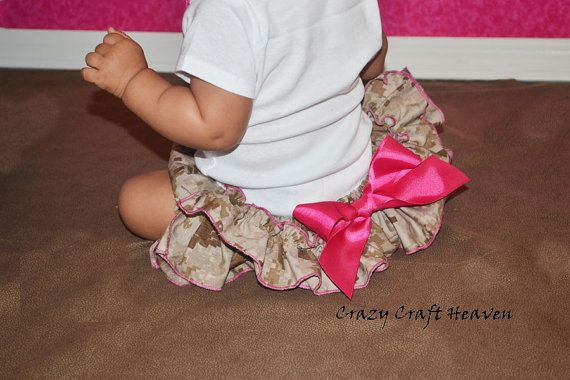 Air Force diaper cover ABU ruffle bloomers by CrazyCraftHeaven, $20.00