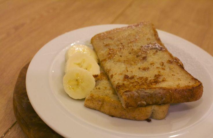 mamacook: No added sugar banana French toast