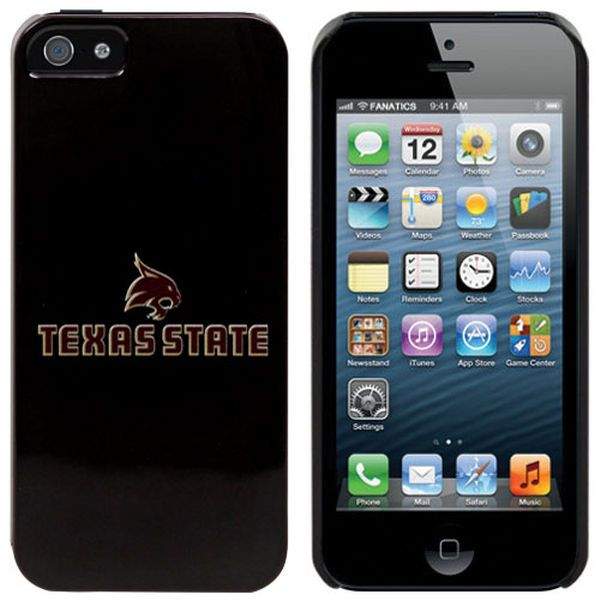 Texas State Bobcats iPhone 5 Snap-On Case - Black - $29.99