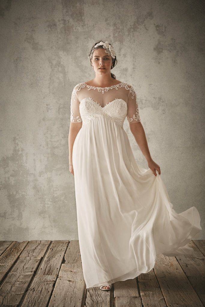 For the Plus Size Bride: Oleg Cassini for David\'s Bridal ...