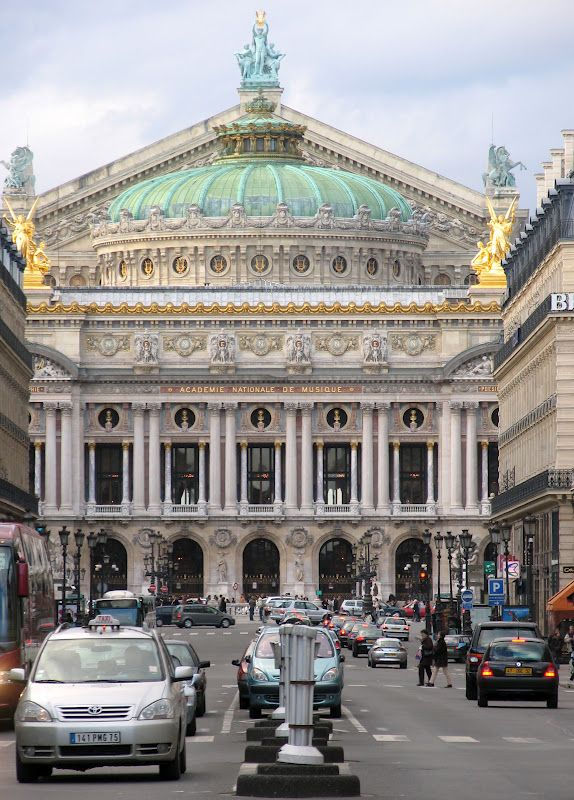 TOP WORLD TRAVEL DESTINATIONS: Opera Garnier Paris