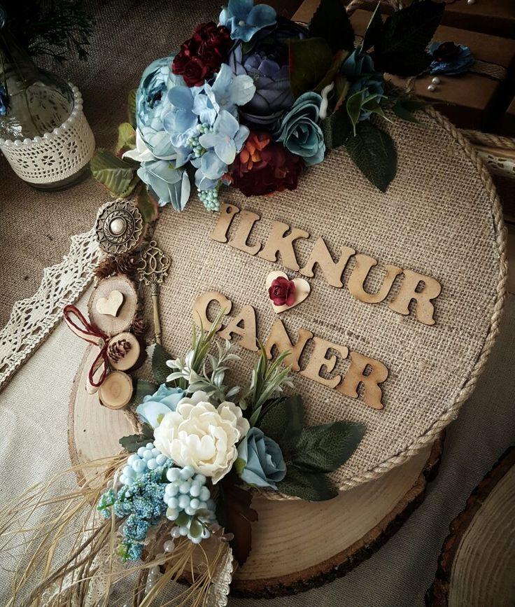 Nişan Kapı süsü #kütüktepsi #kütüknişantepsisi #kutuktepsi #rustic #burlap #wedding #engagement #nisanorganizasyonu #soztepsileri #sozhediyelikleri #nisantepsisi #nişantepsisi #yuzukyukseltici #yuzuktepsisi #love #handmade #craft #kurucicek #gelinlik #gelinbuketi #ahsap #agac #nature #vintage #anıdefteri #anı #damatfincani #damatkahvesi #damattepsisi