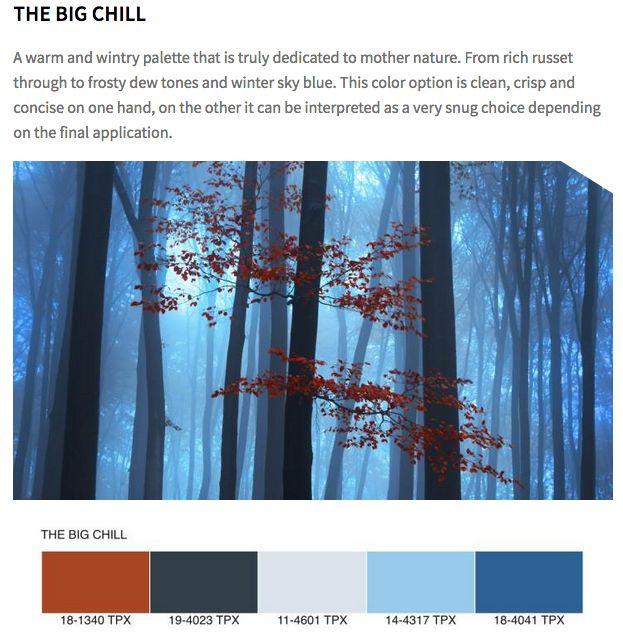Fall Home Decor Trends 2019: Color Trends Fall/winter 2019/2020