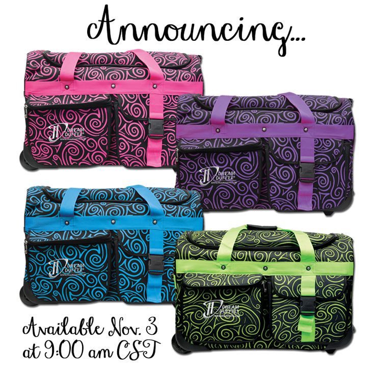 The 2015/2016 Winter Limited Edition Pattern is Swirls! Available for Purchase Nov. 3 at 9:00 AM CST. No Pre-Orders. #DreamDuffel #LimitedEdition #DDSwirls