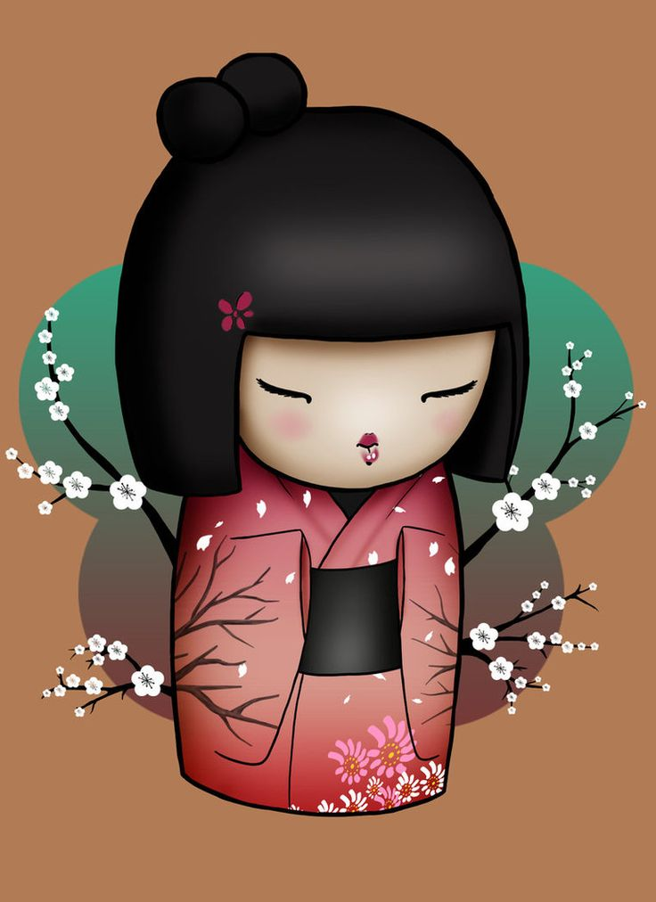 Kokeshi Doll by Xiaoyu85ve